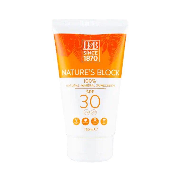 Sunscreen: Nature's Block SPF 30
